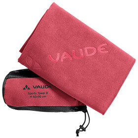 VAUDE Sports II - Serviette de bain - L rouge